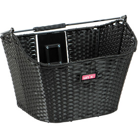 Unix Manolo Front Wheel Basket KlickFix black
